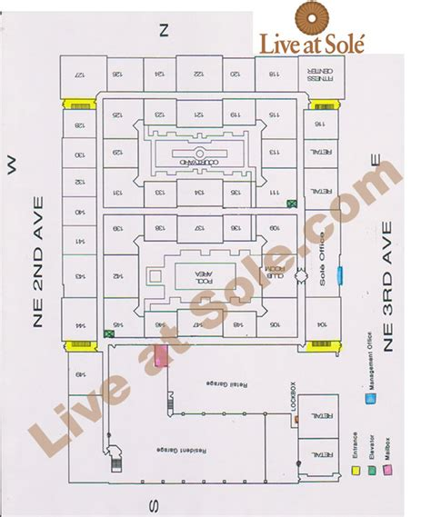 sole fort lauderdale floor plans floor plans live at sole