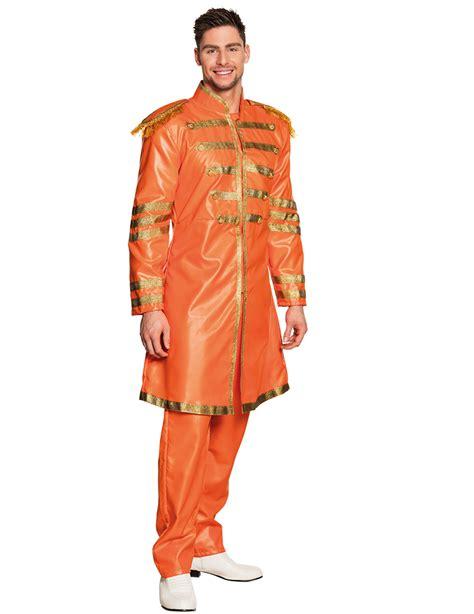 pop saenger er jahre kostuem fuer herren orange gold