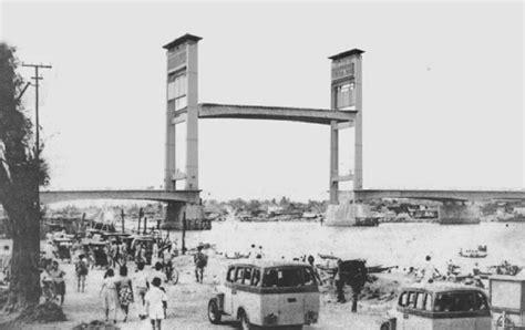 the looks of jembatan era palembang indonesia