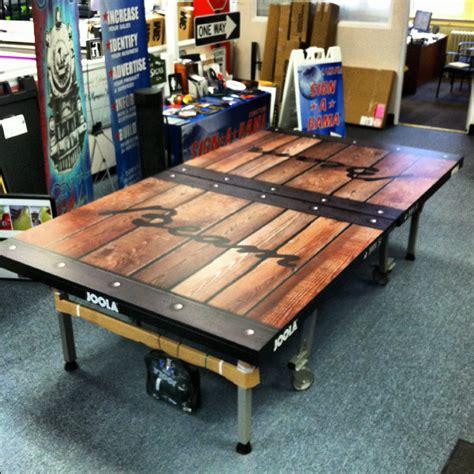 custom pong table custom ping pong table imperium lafura