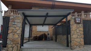 cobertizos para vehiculos metalicos techos exteriores en madrid marquesinas y p 233 rgolas en madrid