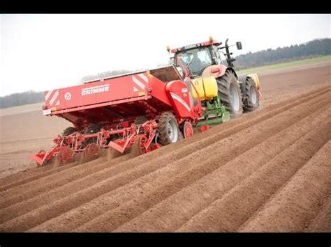 Grimme Potato Planter by Grimme Gl 430 Potato Planter 5 In 1 Planting