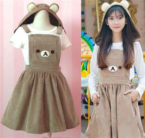 imagenes de ropa kawai kawaii clothing vestido rilakkuma dress wh158 online