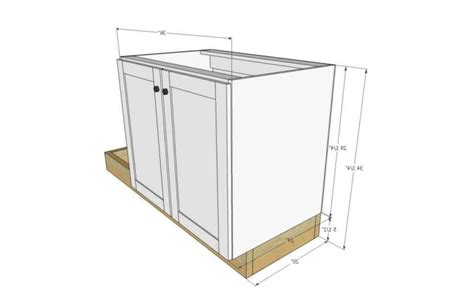 base kitchen cabinet sizes kitchen sink cabinet dimensions
