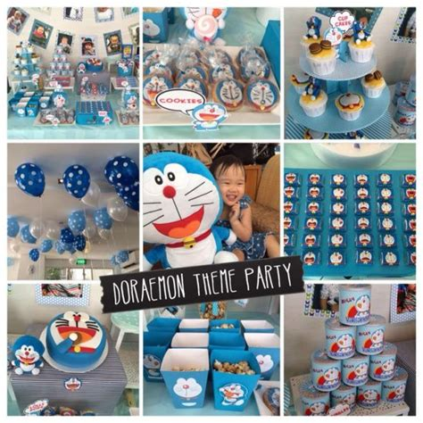 themes facebook doraemon 43 dashing diy boy first birthday themes
