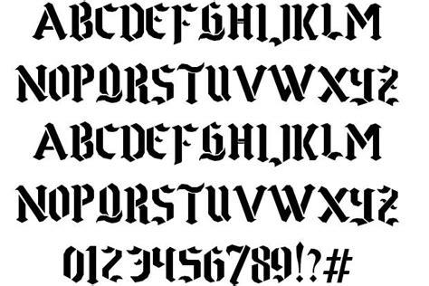 punk tattoo font generator stencil gothic alphabet stencils stencil generator free