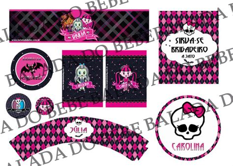 monster high printable party decorations kara s party ideas monster high birthday party supplies
