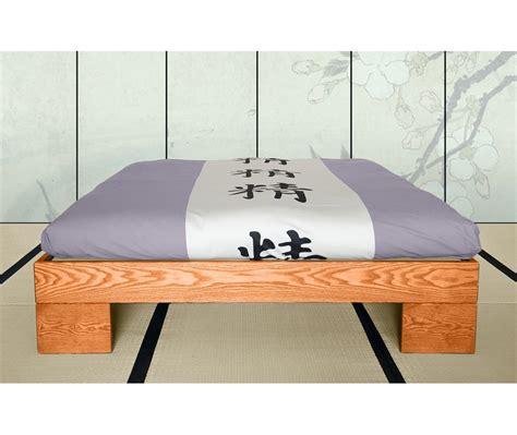 testata futon letto in legno artigianale chan senza testata vivere zen