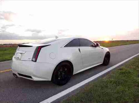 Cadillac Cts Warranty by Purchase Used 2011 Custom Cadillac Cts V Coupe Factory