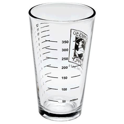 graduated mixing glass 16 ounces espresso supply inc