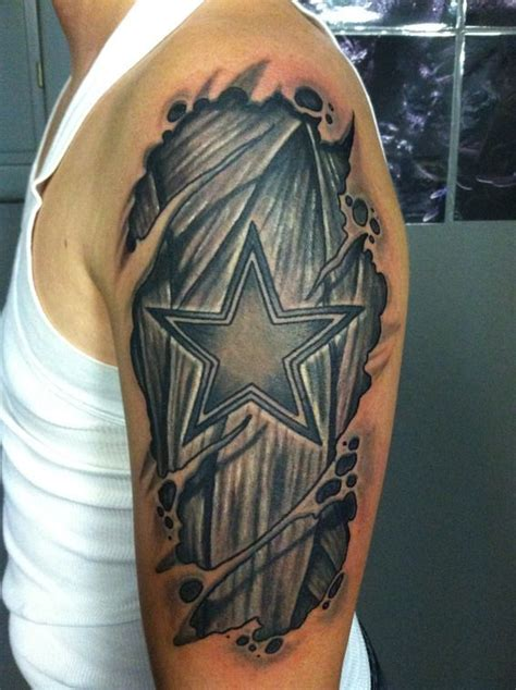 dallas cowboys tattoo dallas cowboys tattoo pinterest