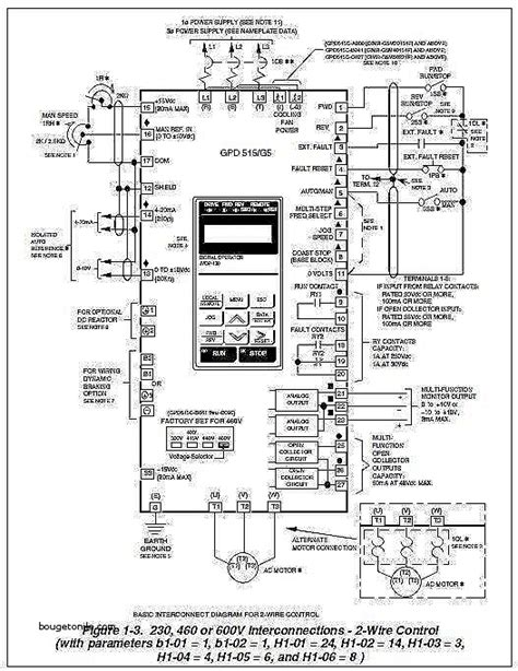 awesome yaskawa v1000 wiring diagram wiring diagram