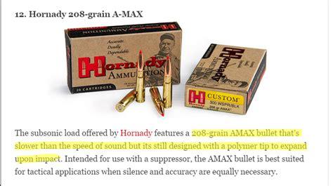 shooting times 300 blackout ammo test info 300blktalk