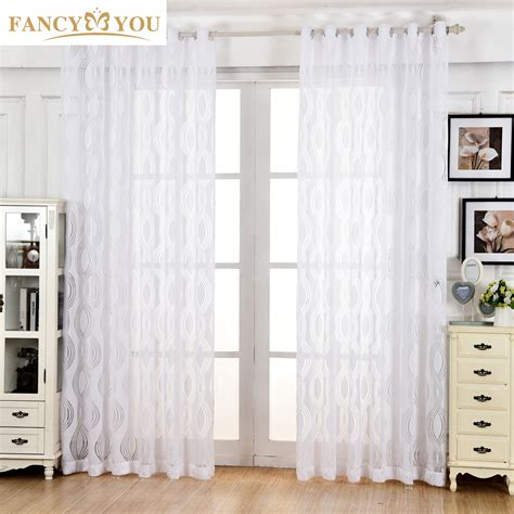 Window Curtain Store Aliexpress Buy Curtains Window Treatments White All
