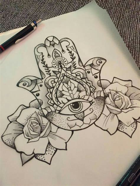 hasma tattoo pin by amanda potenzo on tattoos hamsa