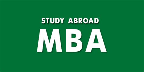 Abroad Opportunities For Mba by Applying For Mba Overseas With A Low Gpa