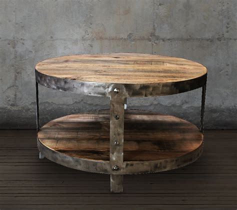 Reclaimed Wood Coffee Table Round Coffee Table Reclaimed Barn Wood Coffee Table