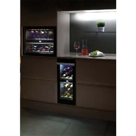 Red Kitchen Furniture norcool cave 20 bi dual zone built in wine cooler cave20bi