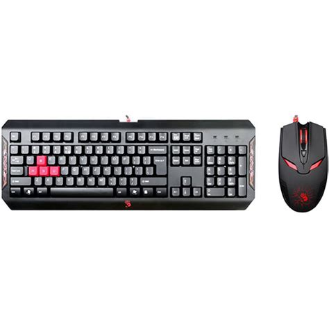 Bloody Keyboard Mouse Bundle Q1100 Blazing Keyboard itsvet a4 tech q1100 bloody tastature