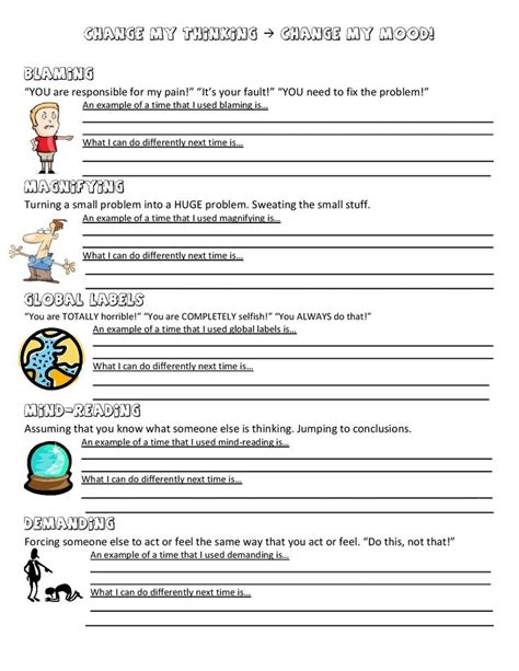 Free Printable Psychology Worksheets by Worksheet High School Psychology Worksheets Caytailoc