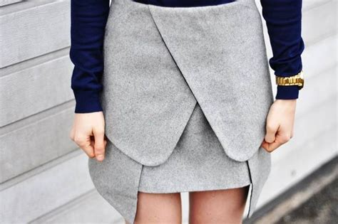 Origami Skirt - origami skirt fashion style