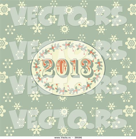 new year 2013 background vector free vector of a retro styled 2013 new year oval