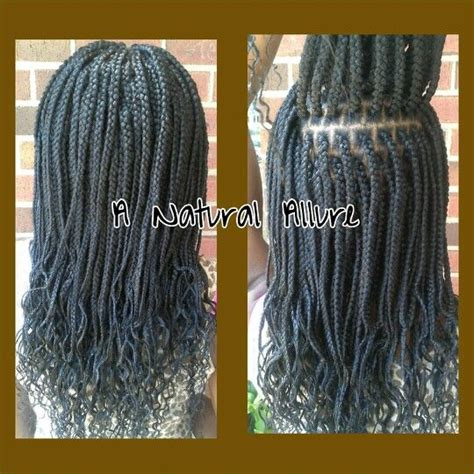 box braids pattern box braids installed with 4 3 4 packs of xpression hair a