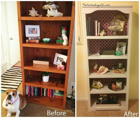 how to decorate a bookcase update an old bookcase for 15 the enchanting life the