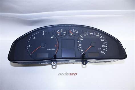 Audi A4 Bj 2000 by 8d0920900 Audi A4 B5 Bj 2000 Tdi Kombiinstrument 260km H