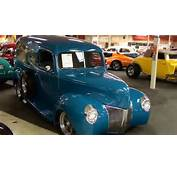 1940 Ford Hot Rod Surf Wagon Panel Truck  YouTube