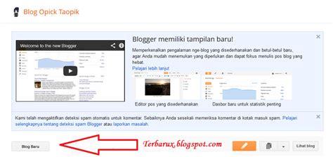 cara membuat blog bagus cara mudah membuat blog gratis di blogspot