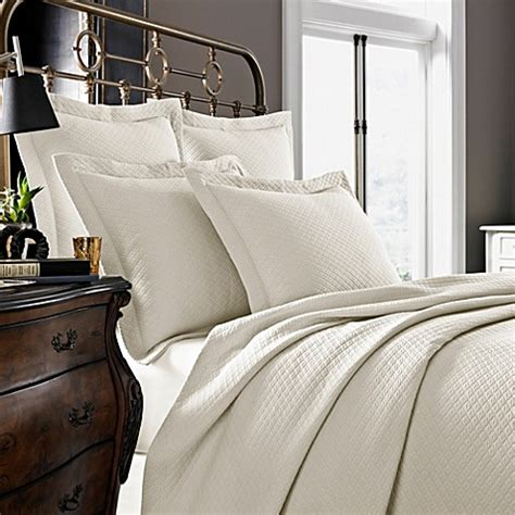 Bed 2 In 1 Matalase Mozat 100 buy kassatex diamante collection king pillow sham in ivory from bed bath beyond