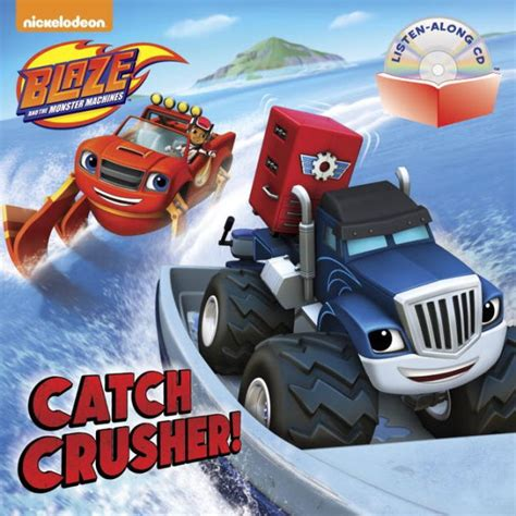 libro blaze catch crusher blaze and the monster machines by random house dynamo limited paperback