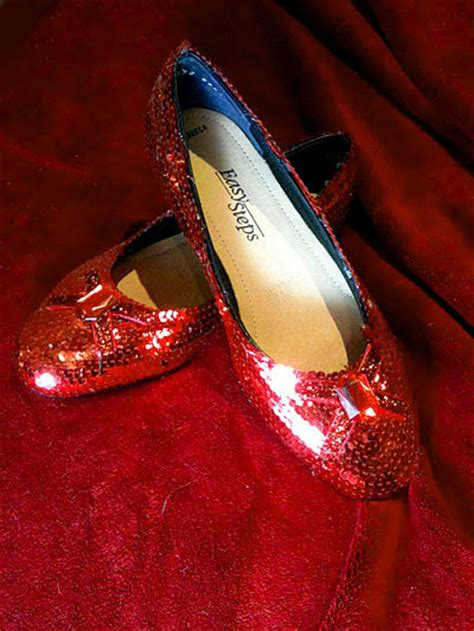 make ruby slippers how to make your own pair of wizard of oz ruby slippers 6