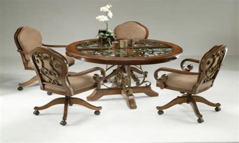Dining Table With Casters Dining Room Dining Table With Caster Legs Pictures Decorations Inspiration And Models