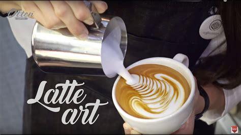 tips   buat latte art  pemula coffee oceans
