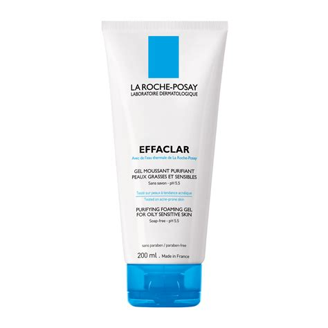 gel a la la roche posay effaclar purifying foaming gel 200ml feelunique