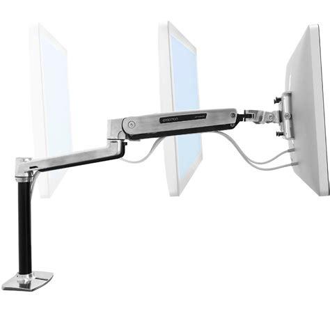 ergotron lx hd sit stand desk mount lcd arm sit stand desk monitor arm ergotron 45 384 026
