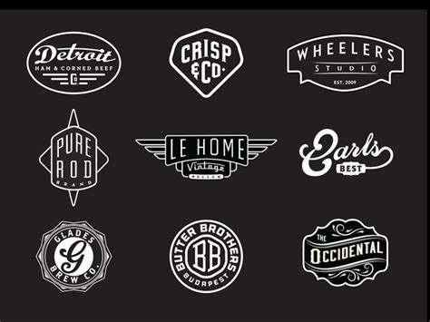vintage style logo design photoshop 1377 best modern vintage graphic design images on