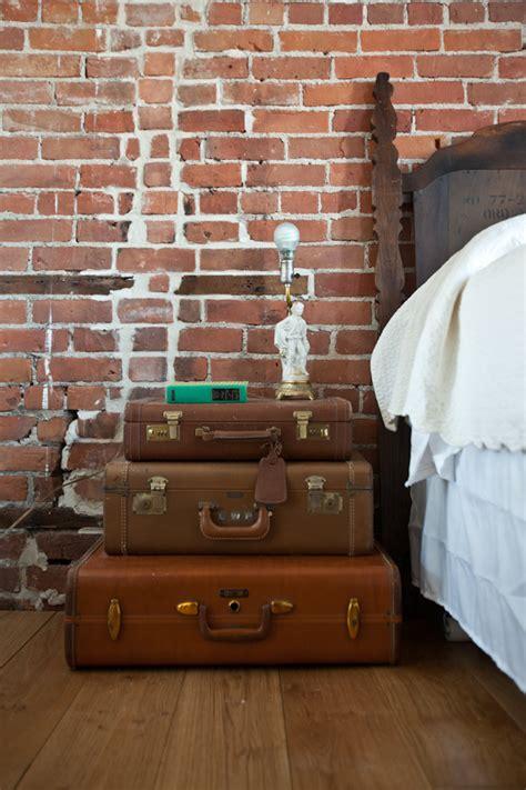 Koffer Nachttisch by 20 Interessante Ideen F 252 R Nachttisch Mit Ungew 246 Hnlichem Design