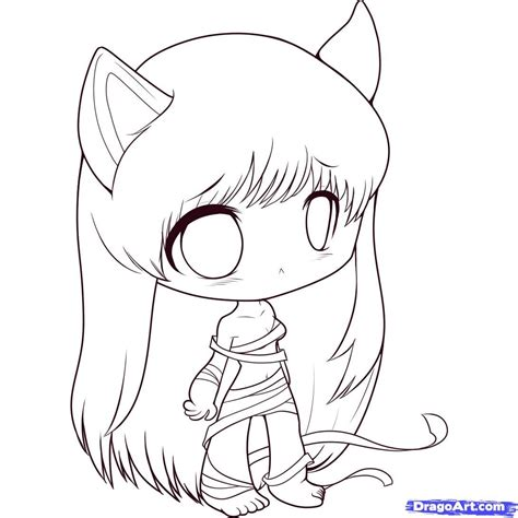 anime chibi pictures how to draw chibi elfen lied step by step chibis draw