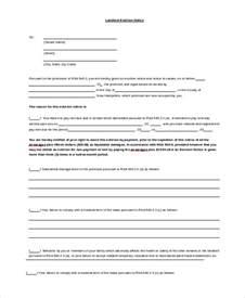Landlord Eviction Database Sle Of Eviction Notice