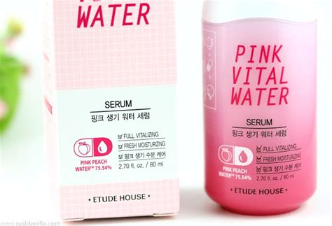 etude house where to buy etude house pink vital water serum nailderella