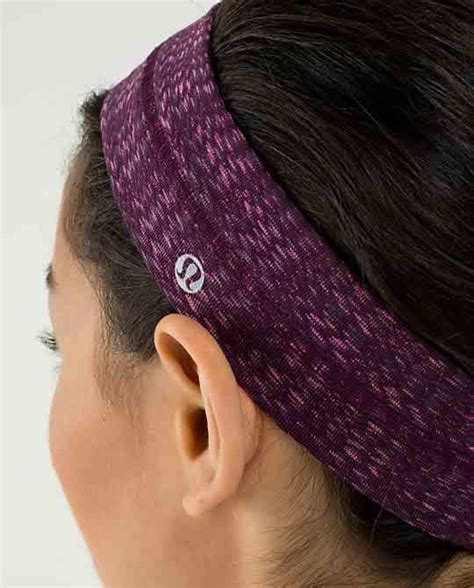 lululemon patterned headbands fly away tamer headband women s from lululemon things