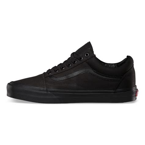 vans shoes vans skool suede canvas shoes black black