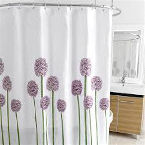 Cloth Shower Curtains Curtain Bath Outlet Allium Fabric Shower Curtain