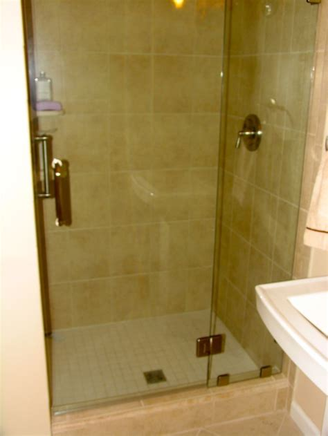 bathroom with standup shower stand up shower tile bathroom tile pinterest