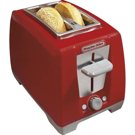 Best Kitchen Toaster by Proctor Silex 2 Slice Bagel Toaster Auto Shut Cord