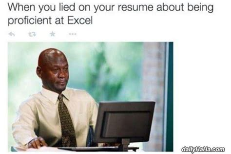 how to lie on your resume excel on resume experienced