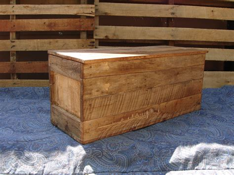 wooden trunk primitive wood box storage chest trunk wooden box style